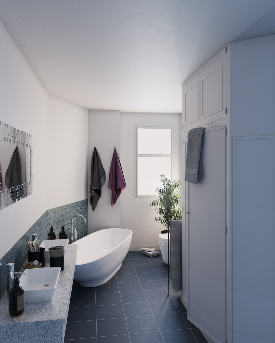 Appartement Haussmanien, Paris 6
